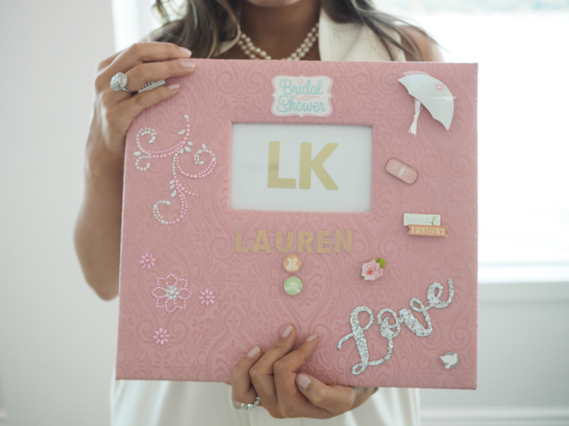 memory book idea for bridal shower