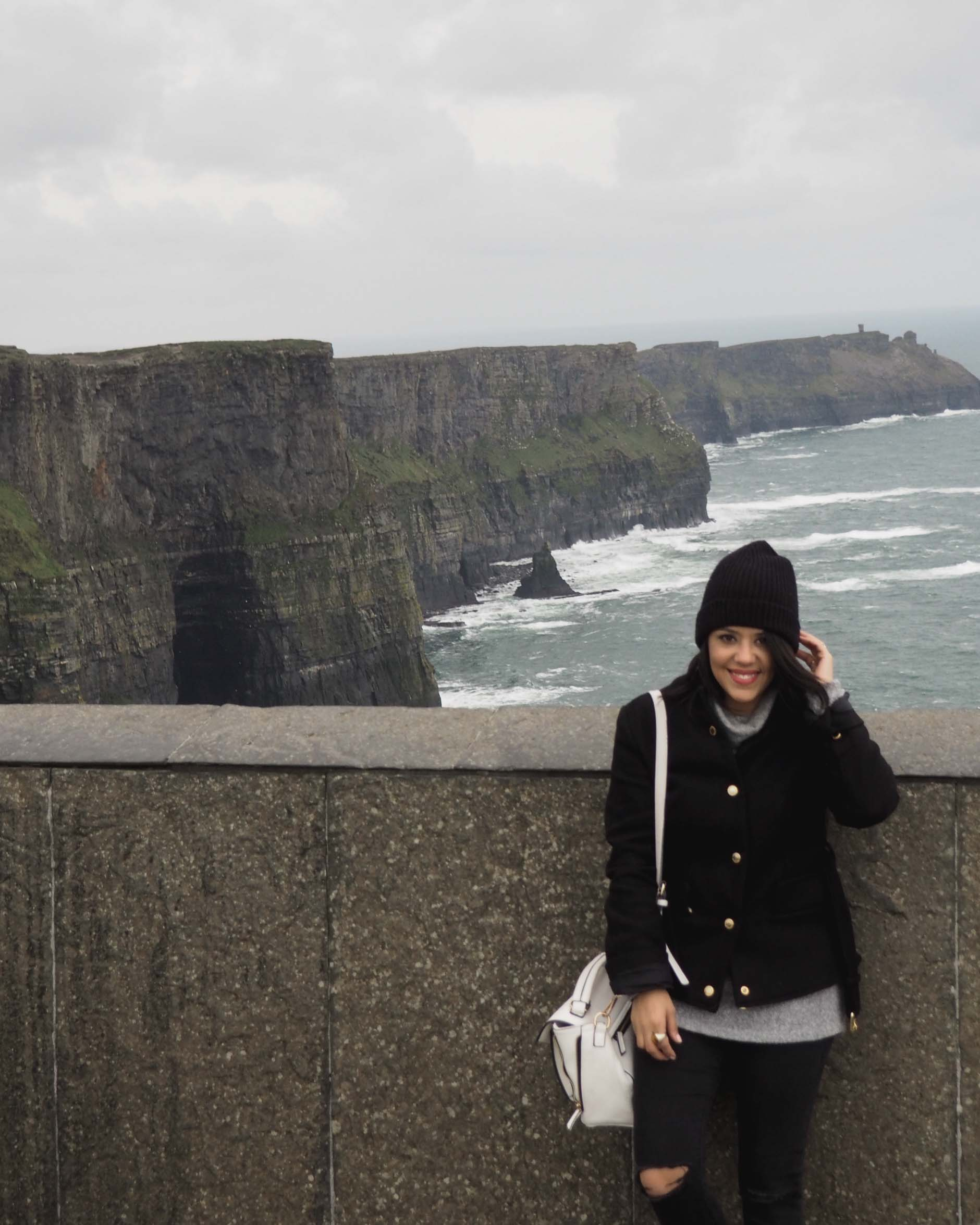 naty michele solo travel cliffs of moher