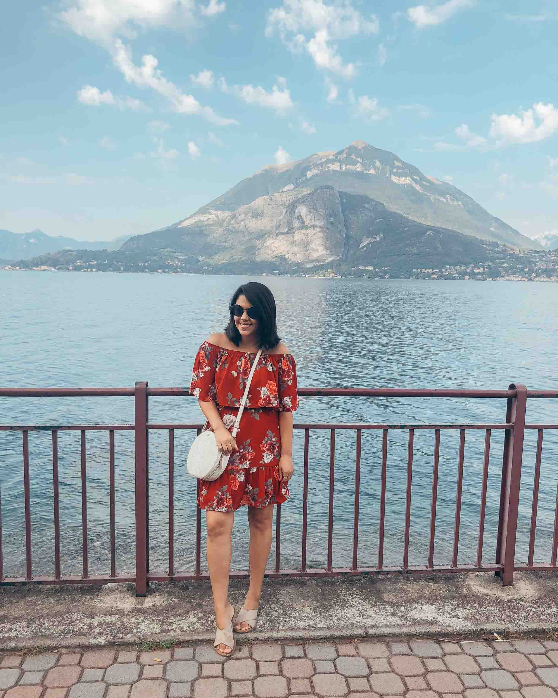 travel blogger naty michele in lake como