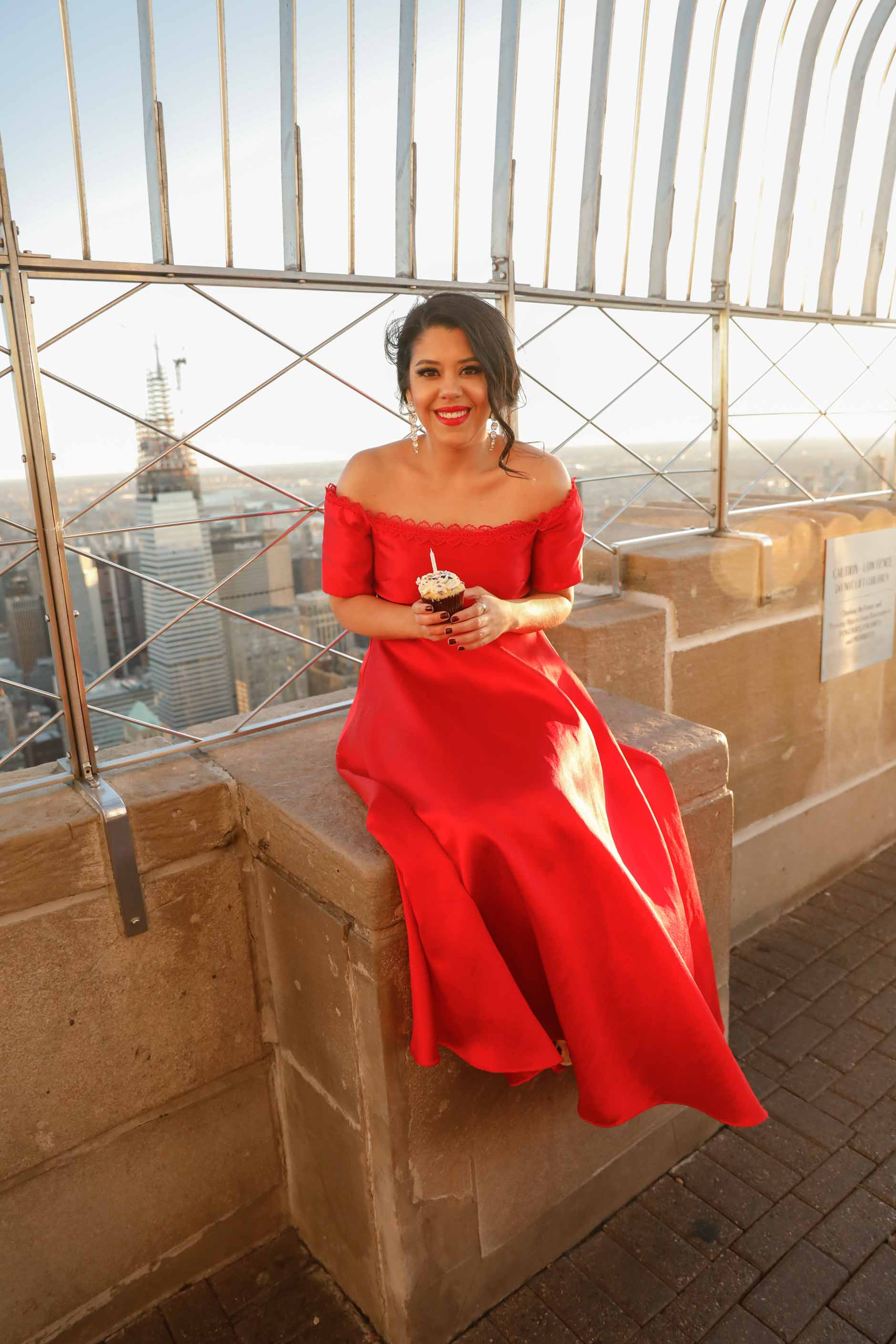 birthday shoot on empire state building