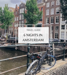 Travel Guide: 6 Nights In Amsterdam
